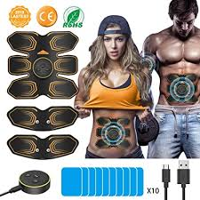 <b>ABS Muscle Stimulator</b>, ANLAN <b>EMS Abdominal</b> Muscle <b>Toner</b> ...