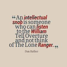 Intellectual Quotes Delectable Picture An Intellectual Snob
