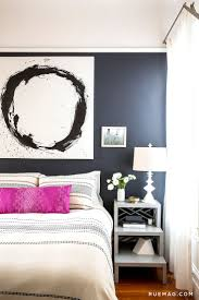 Navy And Pink Bedroom Dark Bedroom Colors Come Alive With White And Grey Accents