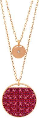 swarovski pink jewellery for women