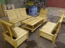 bamboo sofa set ethica