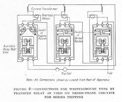 methods of applying relays to circuit breakers from silent connections for westinghouse type bt transfer relay as used on three phase circuits for series