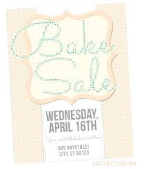 Bake Sale Flyer Templates Free Bake Off Flyer Template Biofonika Info