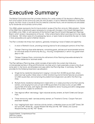 Essay Summary Examples 020 Dissertation One Page Executive Summary Template
