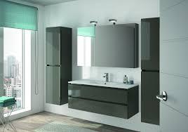 Allibert Bathroom Cabinets Allibert Badmbel Set Badmbel Vormontiert Grau Glanz Spiegel