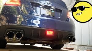 Wrx F1 Fog Light 2015 2017 Subaru Wrx Subispeed F1 Style Rear Fog Light