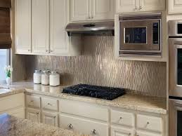 Modern Backsplash Ideas For Small Kitchen With White Cabinetry