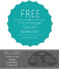 Free Artistic Resume Templates Free Design Resume Cv Template 925