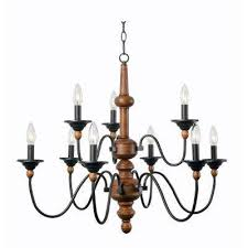 madeline 9 light wood chandelier