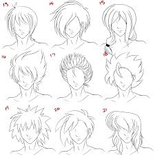 Hair Style Anime anime guy hairstyles by wenqiann on deviantart 4002 by wearticles.com