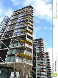 Modern Apartment Building Blocks London Stock Photo Image 62462166