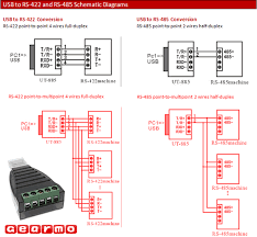 rs 422 wiring diagram wiring diagram usb to rs 485 and 422 wiring diagram image