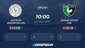 Caykur Rizespor U19 - Denizlispor U19 » Live Stream & Ticker + Quoten,  Statistiken, News