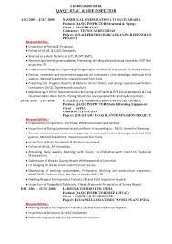 Qa Qc Resume Sample Best of Inspector Job Description Resumes R Manickam Ravi Qaqc Welding