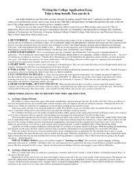 Resume Example Examples Of College Essays For Common App Resume