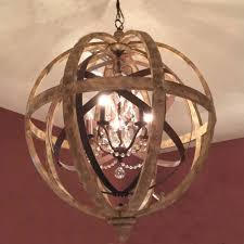 wooden orb chandelier metal orb detail and crystalcowshed inside fantastic wood orb chandelier your house decor