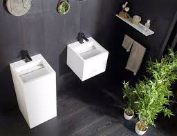 Simple bathroom renovation tips that help create the illusion of space. Best Bathroom Plants To Decorate Your Modern Bath With Greenery Interiorzine