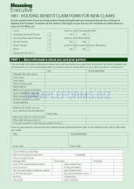 Housing Benefit Form Form Housing Benefit Form 23