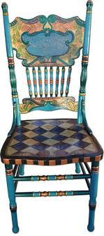 whimsy furniture. Whimsical Hand Painted Art Furniture   Nancy Woods, Custom Art, Whimsy