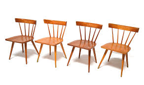 midcentury modern dining chairs. set of four paul mccobb planner group spindle back dining chairs midcentury modern