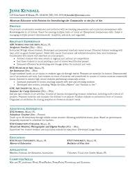 Elementary School Teacher Resume Template Valid Elementary Art