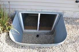 window well drainage. Backyard Window Well Repairs Egress Drainage