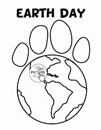 Small Picture Printable Coloring Pages Earth Earth day coloring page ecology