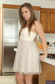 Maddy OReilly and Jillian Brookes get nailed in the kitchen.