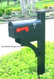 double mailbox post. Qualified Dual Mail Box Post J3398010 Mailbox And Mailboxes Posts Double Wood Multiple Stands . Valuable