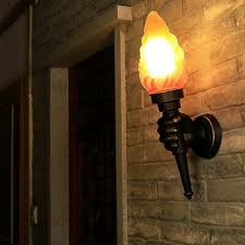 torch lamps wall mounted sconce led