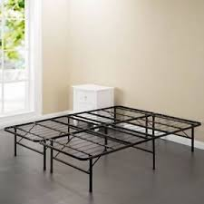 Details about King Size Bed Frame Platform Sturdy Steel Mattress Support No Box Springs Needed