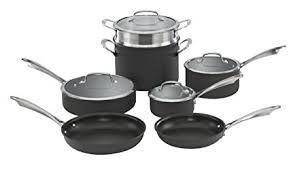 is anodized cookware safe. Perfect Cookware Cuisinart DSA11 Dishwasher Safe HardAnodized 11Piece Cookware Set And Is Anodized L