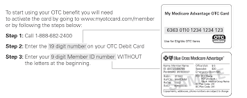 your otc card balance will not carry over from month to month so keep track of what you spend and get the most from this benefit