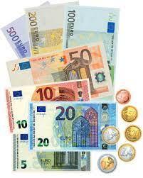 Euroscheine als scheck,.den man natürlich nicht wirklich einlösen kann. Spielgeld Ausdrucken Vorlagen