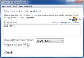 Worksheet Creator Math - Math worksheet | pakcng.comHomestead catholic math worksheet generator