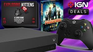 daily deals xbox one x starting at 359 99 huge amazon 1 day board game
