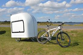Bike Camper Trailer This Tiny Trailer Is Towed By Bicycle Tiny House Hq