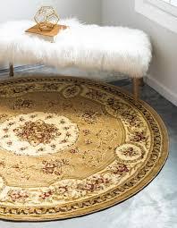 unique loom 6 x 6 versailles round rug main image