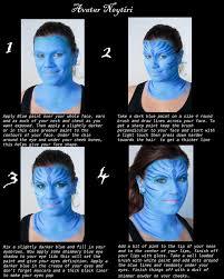 avatar makeup tutorial