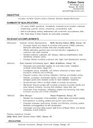 Download Resume For Customer Service
