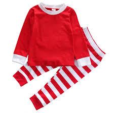 Aliexpress.com : Buy Christmas Pajama Sets 2pcs Toddler Kids Baby ...