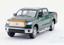 White / Blue /Green / Red Diecast Toyota Tundra Pickup Truck Toy ...