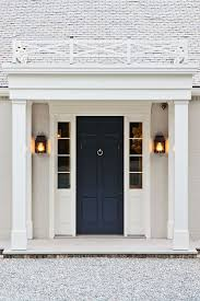blue front door png. Wonderful Front Dark Blue FrontDoor Contrasting Nicely With The White House On Blue Front Door Png S
