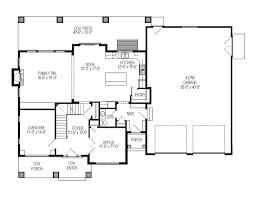 Craftsman Style House Plan  6 Beds 450 Baths 2969 SqFt Plan 92036Four Car Garage House Plans