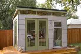 shed home office. prefab office shed mission relocation completed green space living interior decor home d