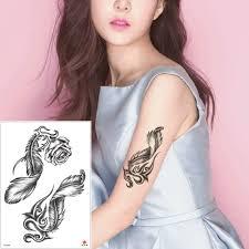 красота поддельные водонепроницаемый временные боди арт татуировки наклейки
