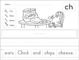 Help your beginning reader master common consonant digraphs with this worksheet featuring words that start with ch. Blends And Digraph Worksheets Games Activities Practice Lesson Plans For Kids