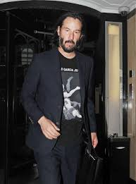 Keanu Reeves In London After Becoming Saint Laurent Newest