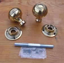 antique door knobs reproduction. Antique Reproduction Solid Brass Door Knobs