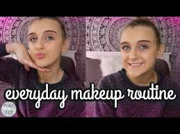 every day makeup routine 2018